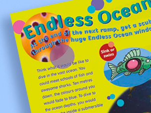 the deep! activity book