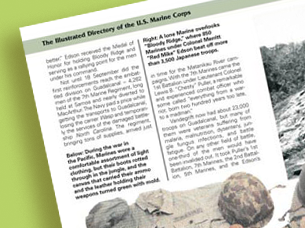 chrysalis books – illustrated directory of the u.s. marine corps