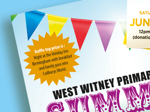 west witney primary school poster